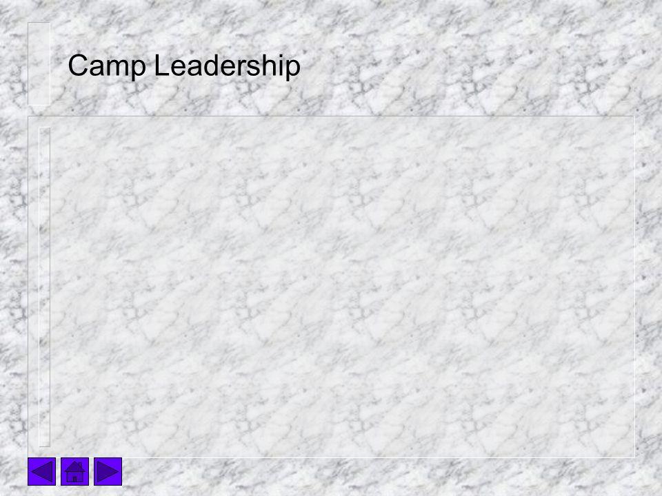 Camp Leadership