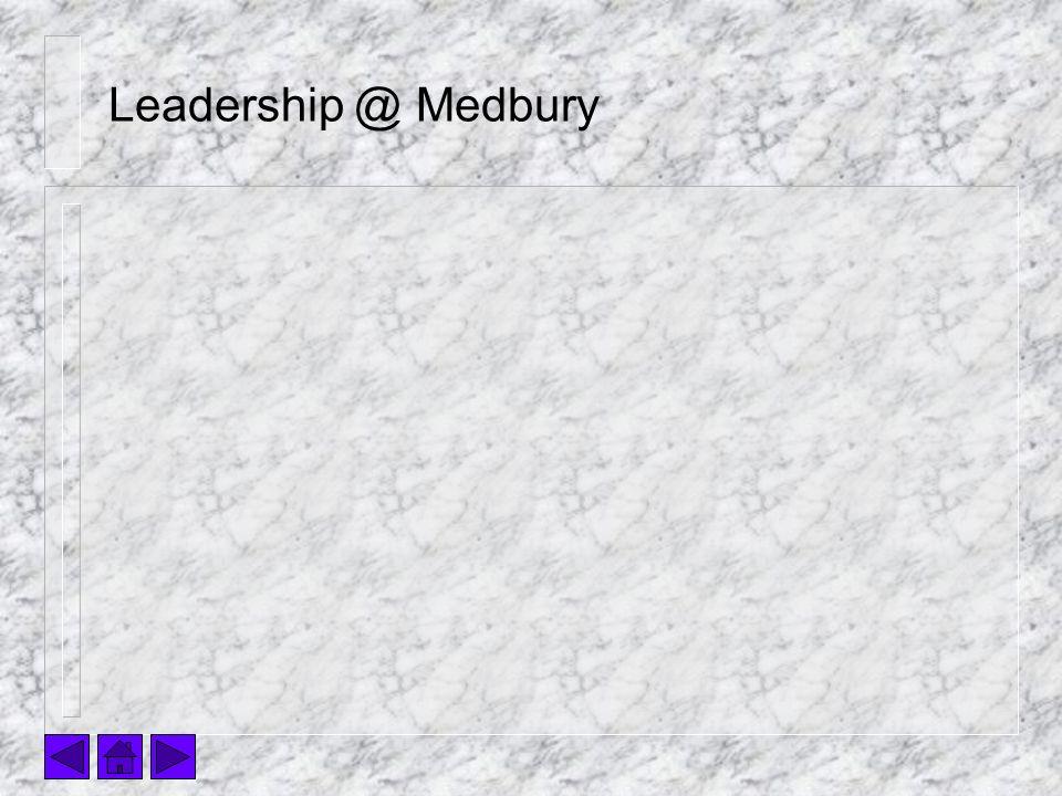 Leadership @ Medbury