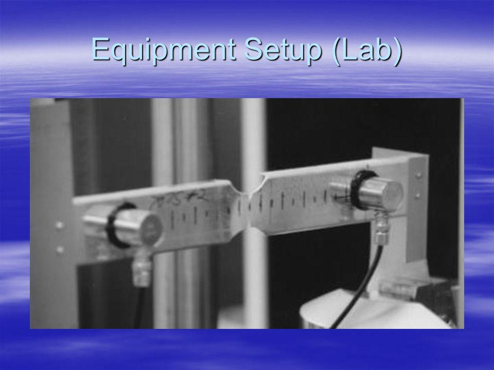 Equipment Setup (Lab)