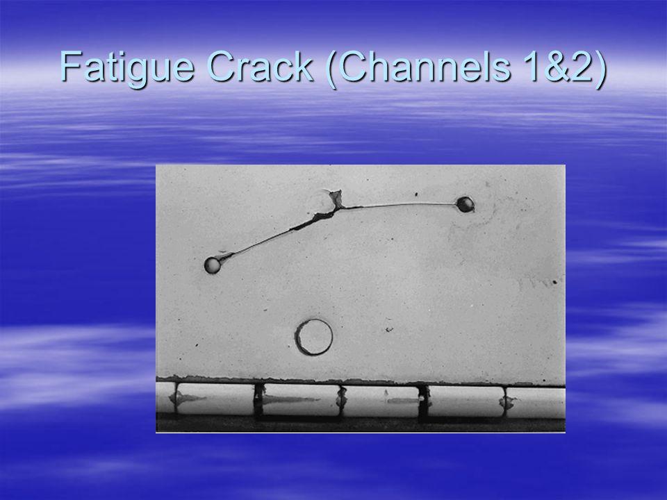 Fatigue Crack (Channels 1&2)