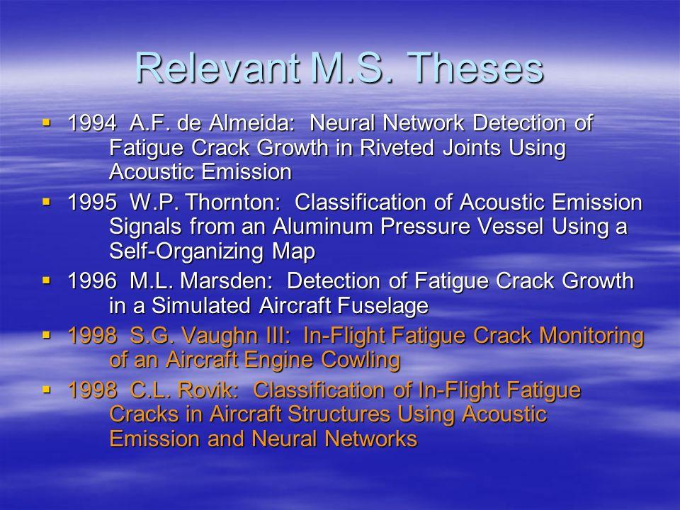 Cessna Crusader In-Flight Data SOM Output