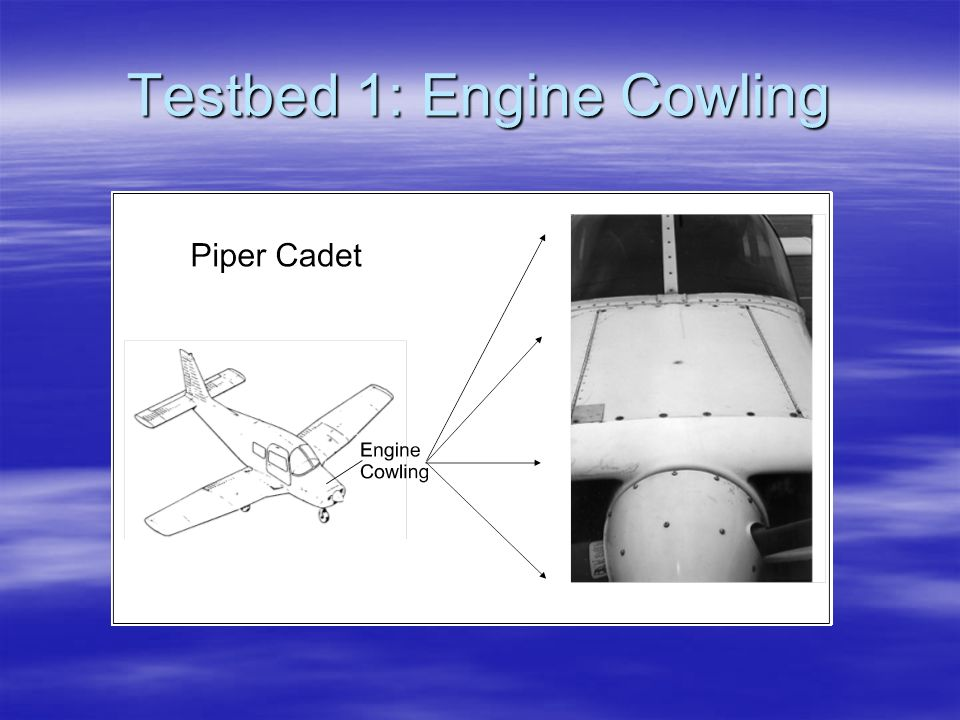 Testbed 1: Engine Cowling