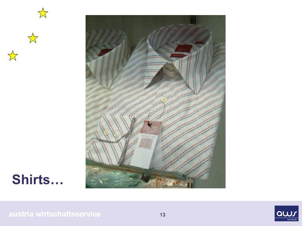 austria wirtschaftsservice 13 Shirts…