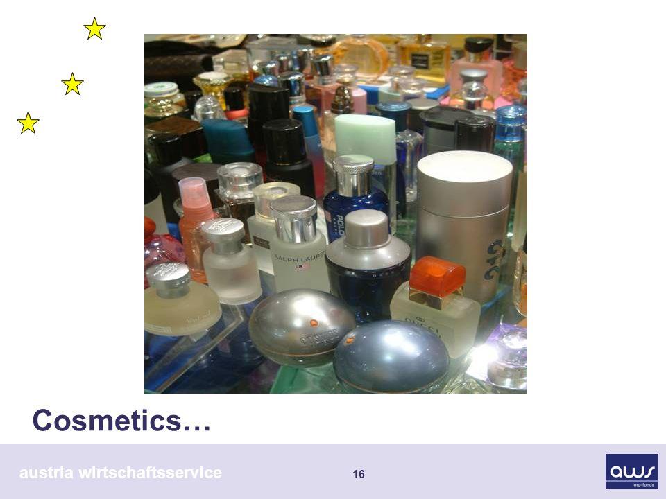 austria wirtschaftsservice 16 Cosmetics…
