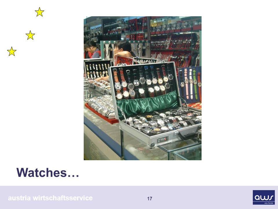 austria wirtschaftsservice 17 Watches…