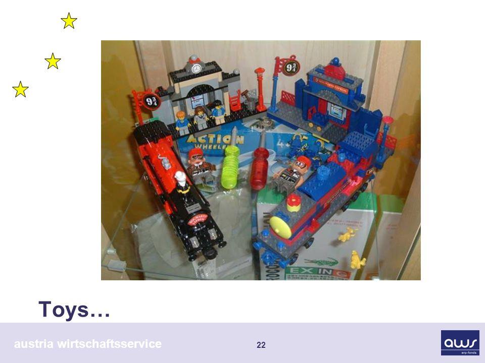 austria wirtschaftsservice 22 Toys…