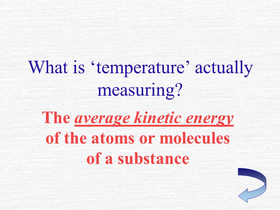 What must be happening if heat energy is added to water but the temperature doesnt change.