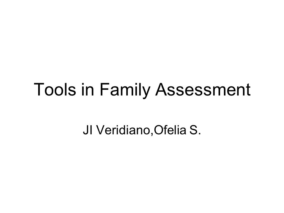 FACES Family Adaptability and Cohesion Evaluation Scale This is an assessment tool based on the Olsons circumflex model of family function.
