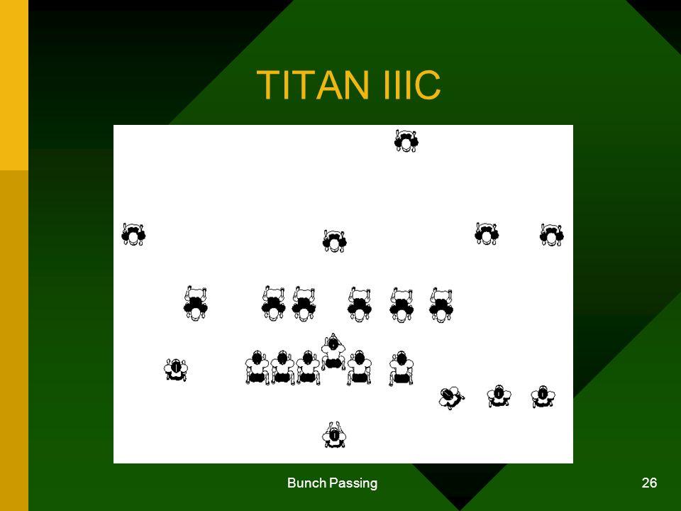 Bunch Passing 26 TITAN IIIC