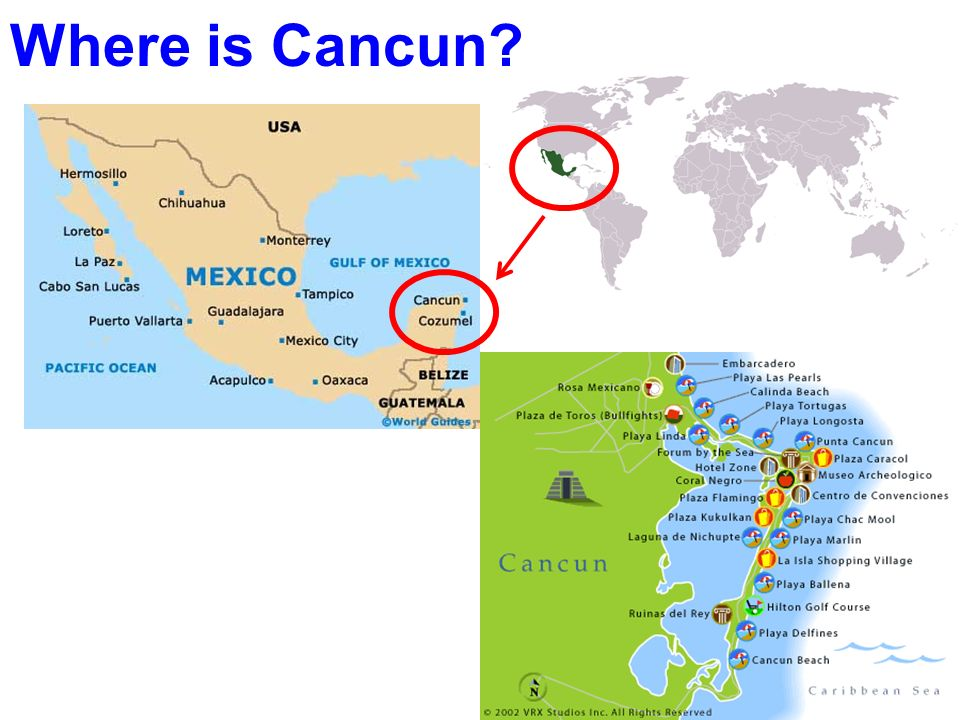 Where is Cancun?
