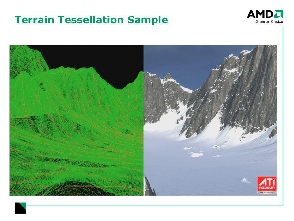 Terrain Tessellation Sample
