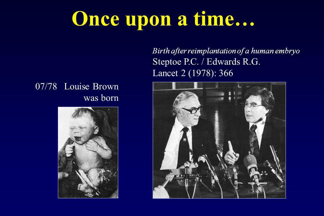 Milestones in reproductive medicine 1960- ovarian stimulation with clomifene and gonadotrophins - radioimmunoassay 1970- secretion, synthesis, mechanism of GnRH a.