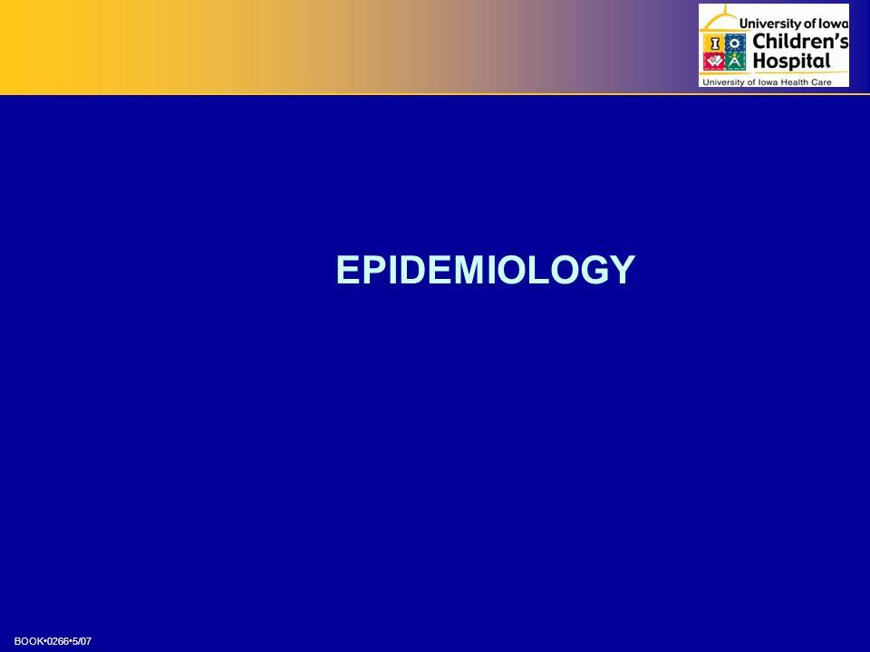 BOOK02665/07 EPIDEMIOLOGY