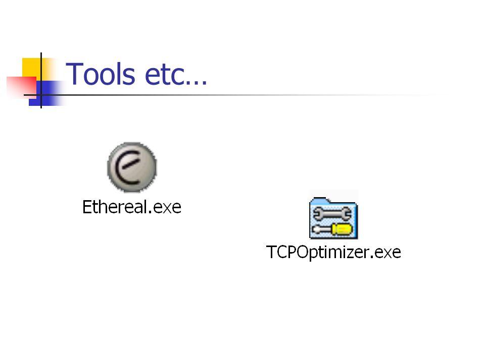 Tools etc…