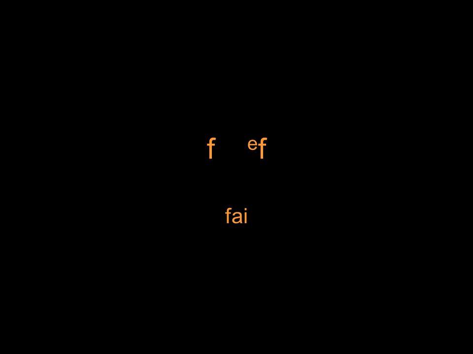 f e f fai