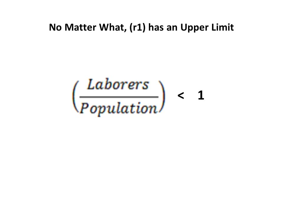 < 1 No Matter What, (r1) has an Upper Limit