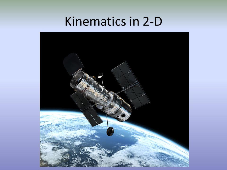 Kinematics in 2-D