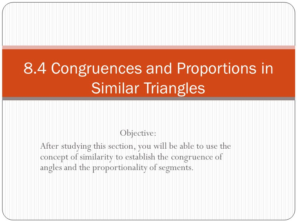 We can prove parts of congruent triangles congruent using CPCTC.