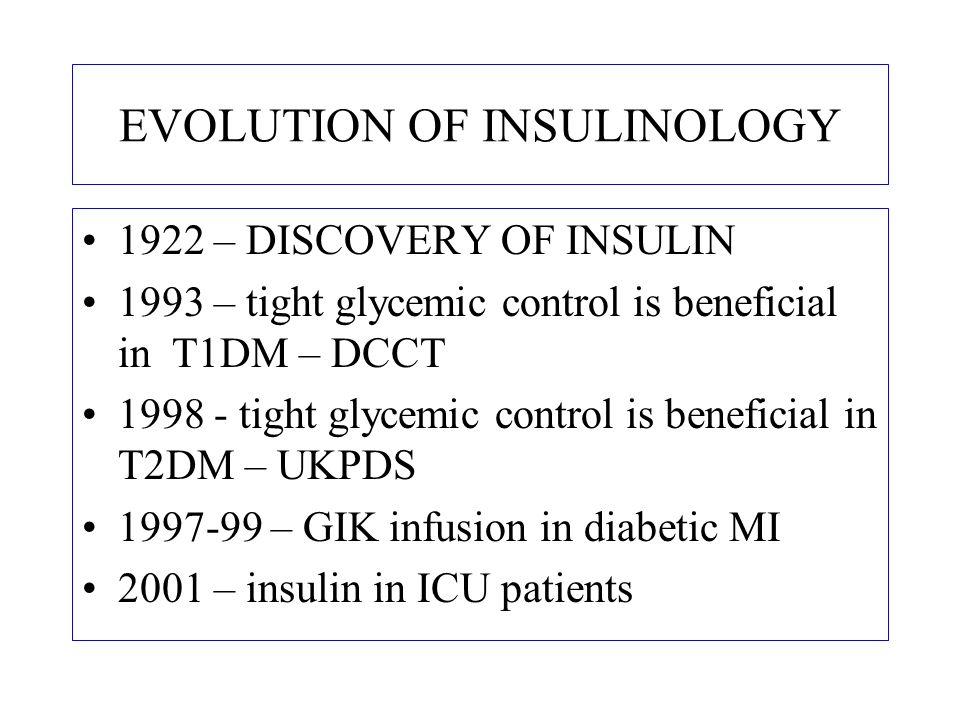 EVOLUTION OF CRITICAL CARE 1940 – FIRST COMMERCIAL VENTILATOR [SPIROPULSATOR] 1942 – Penicillin 2001 – INSULIN in ICU patients