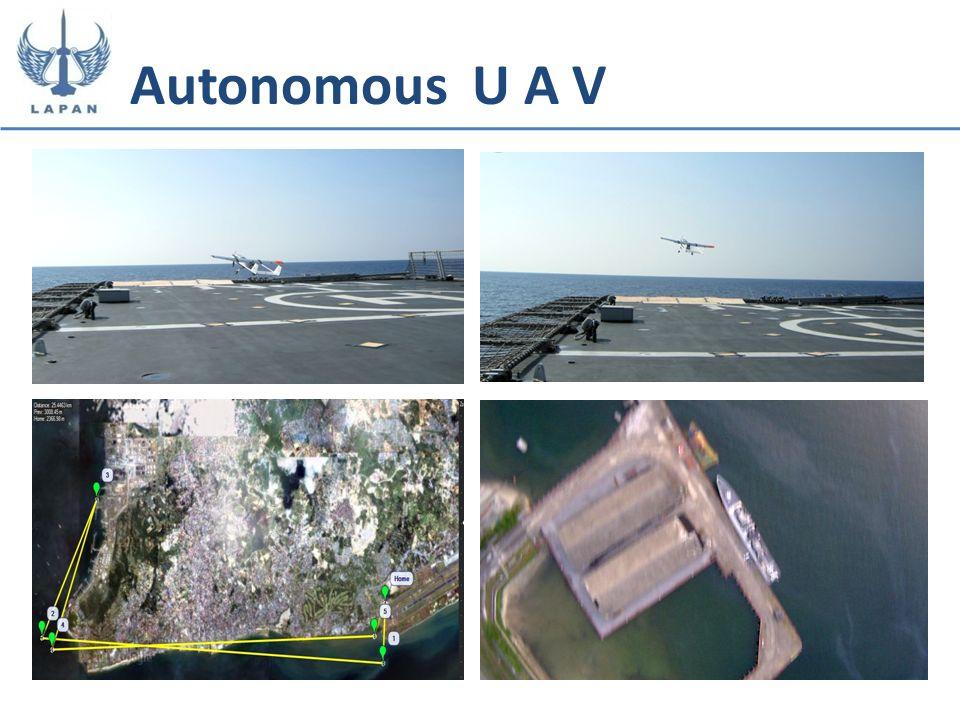 Autonomous U A V