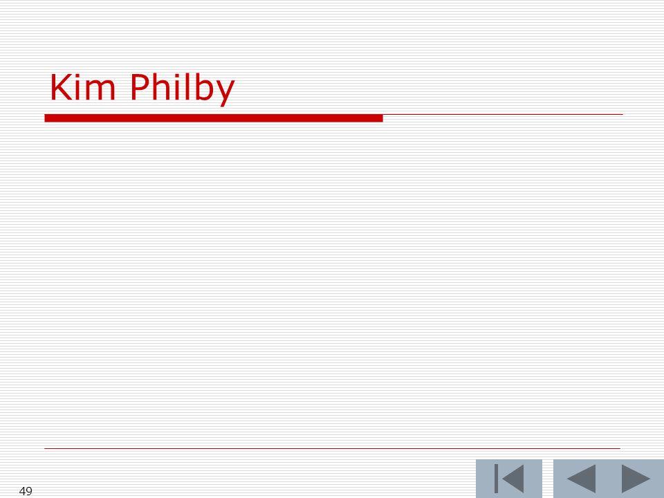Kim Philby 49