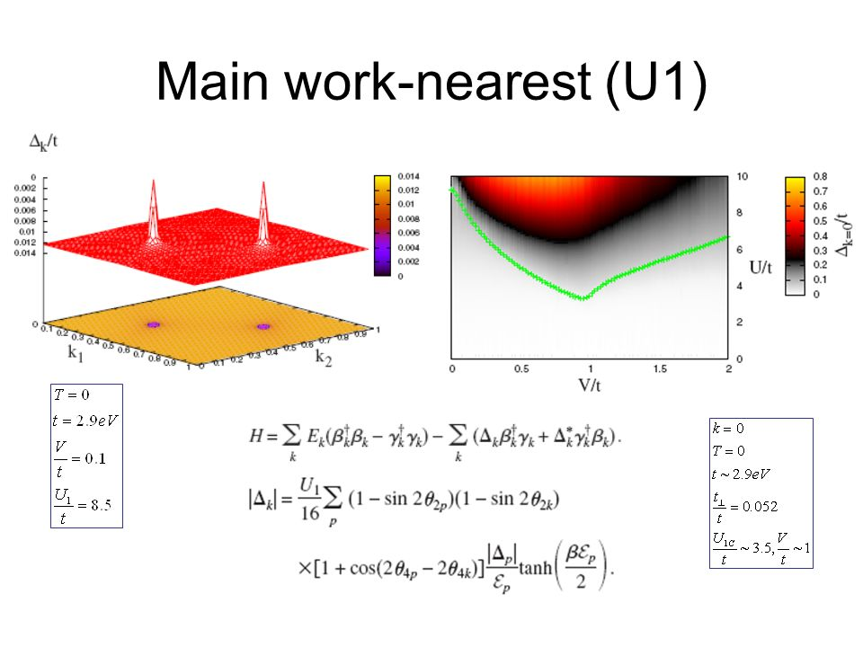 Main work-nearest (U1)