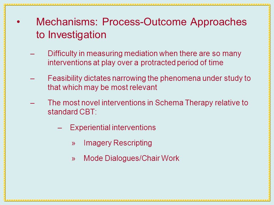 Mechanisms of Experiential Interventions: Evidence from Emotion Focused Therapy for Depression –What causes change in experiential interventions.