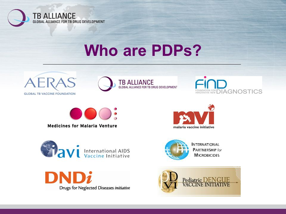 Who are PDPs?
