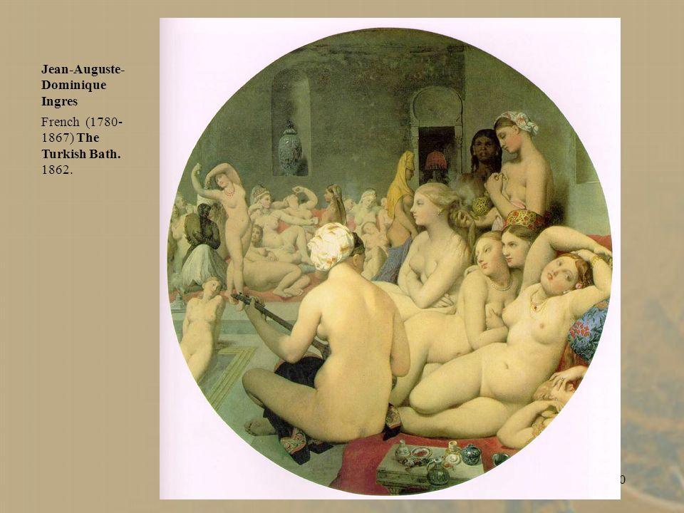39 Eugene Delacroix,. Death of Sardanapalus. 1827.