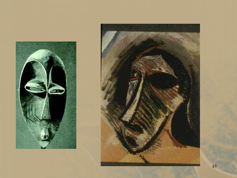 44 Pablo Picasso. Les Demoiselles dAvignon. 1907.