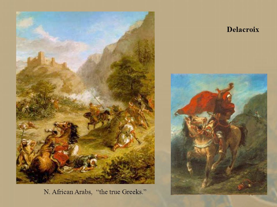60 Eugene Delacroix (French). Algerian Women in their Apartment. e. 19th c.. 19th c. Romanticism