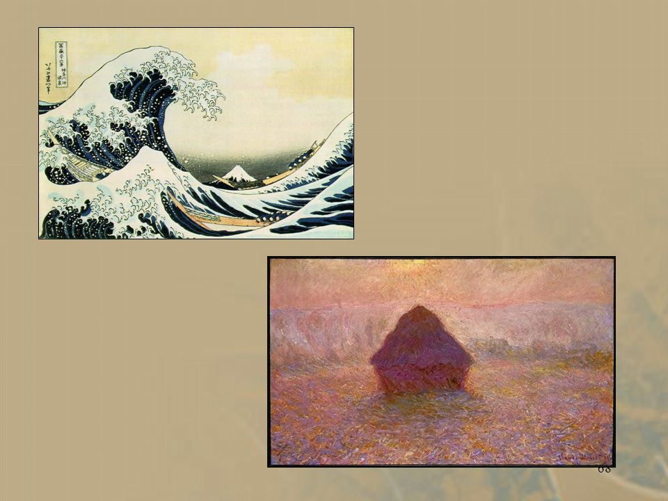 67 Claude Monet. Haystack in the Mist. 1898. Boston MA.