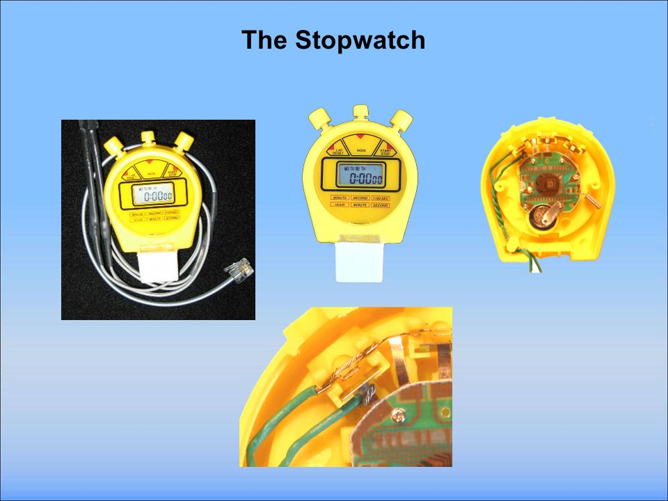 Making the Stopwatch