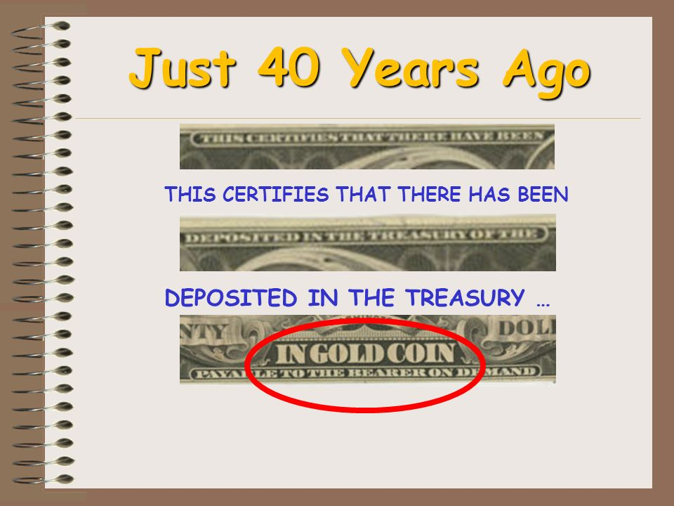 THIS CERTIFIES THAT THERE HAS BEEN DEPOSITED IN THE TREASURY …