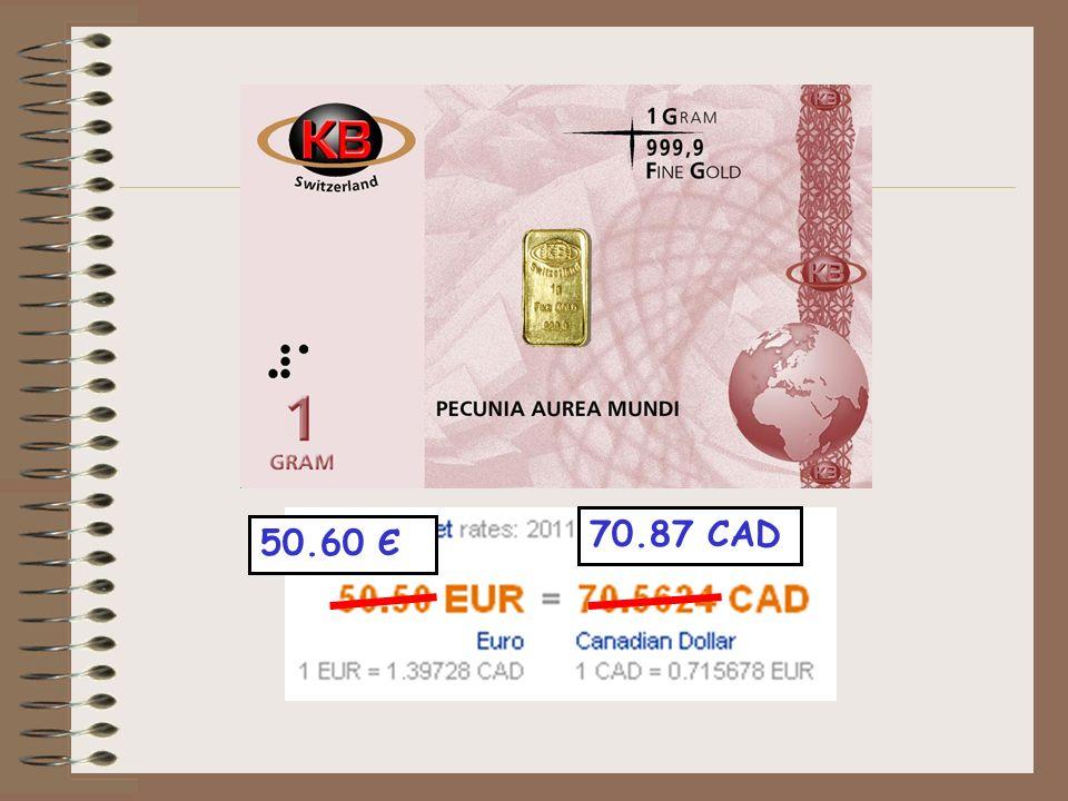 50.60 Є 70.87 CAD