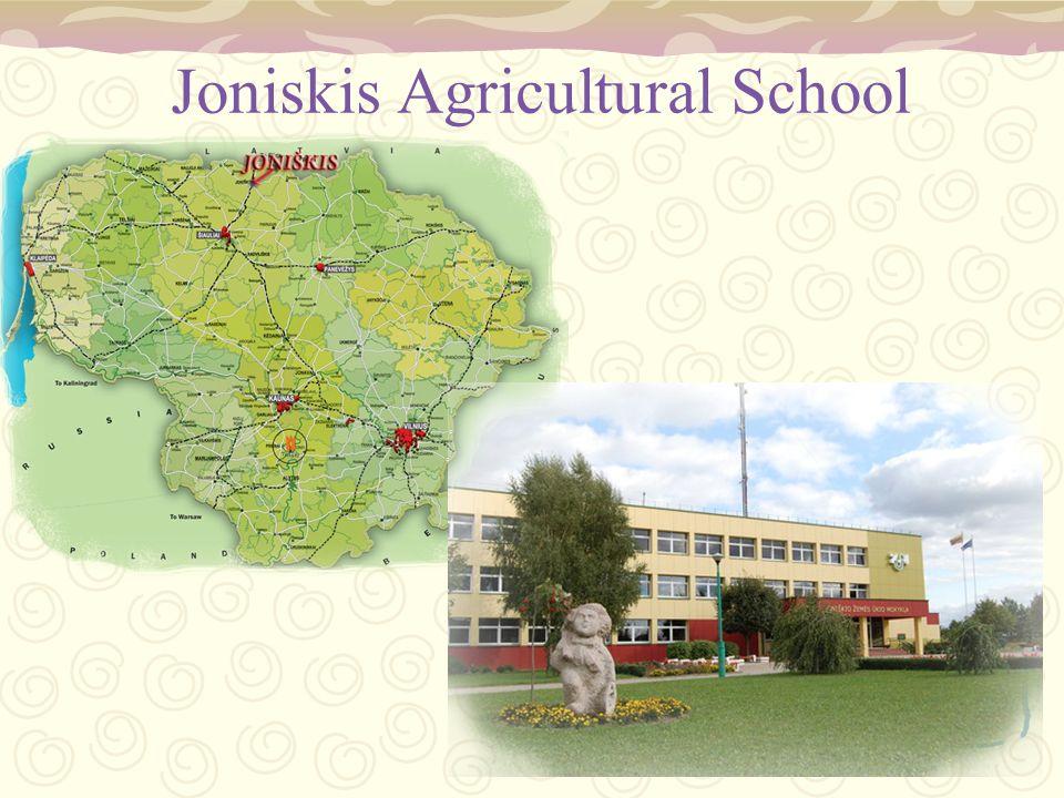 Joniskis Agricultural School