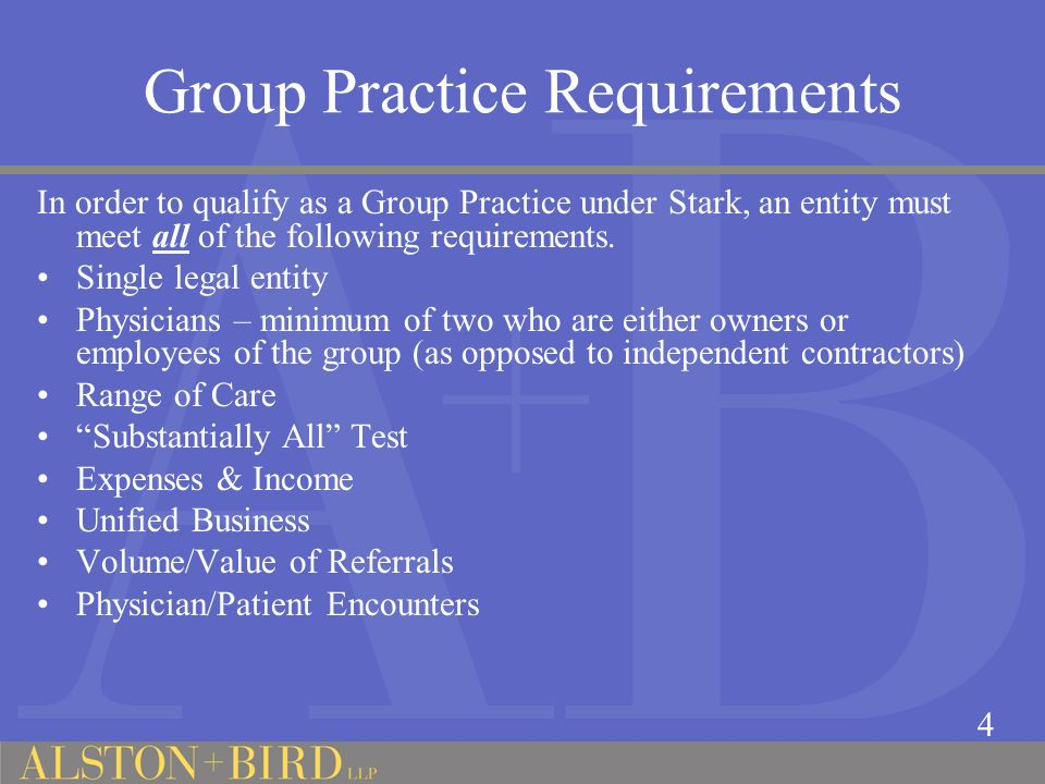 Additional Issues Ownership and Corporate Structure of a Group Practice Employment by a hospital versus formation of a group practice.