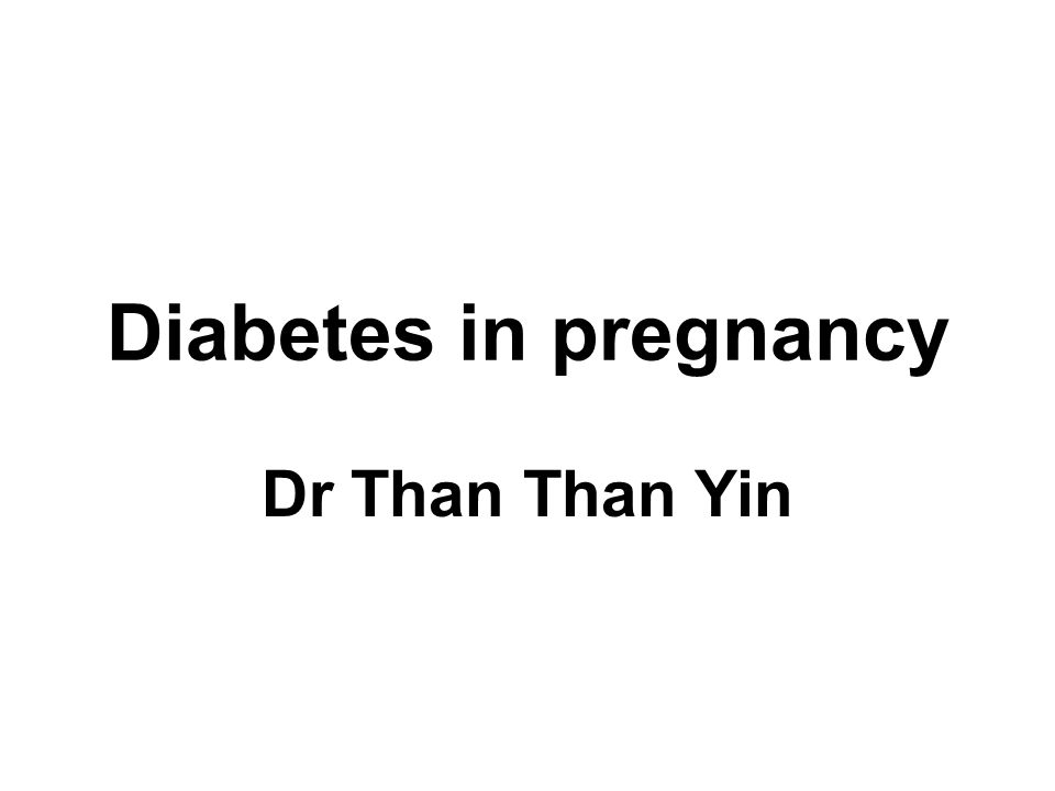 Physiological changes Pregnancy is a state of physiological insulin resistance and relative glucose intolerance Glucose handling is altered Glucose tolerance decreases progressively with increasing with pregnancy Renal tubular threshold for glucose fall in pregnancy