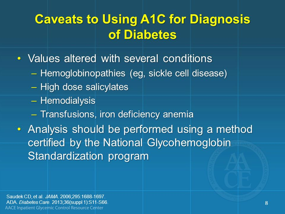 GLYCEMIC GOALS FOR NONCRITICALLY ILL PATIENTS 9