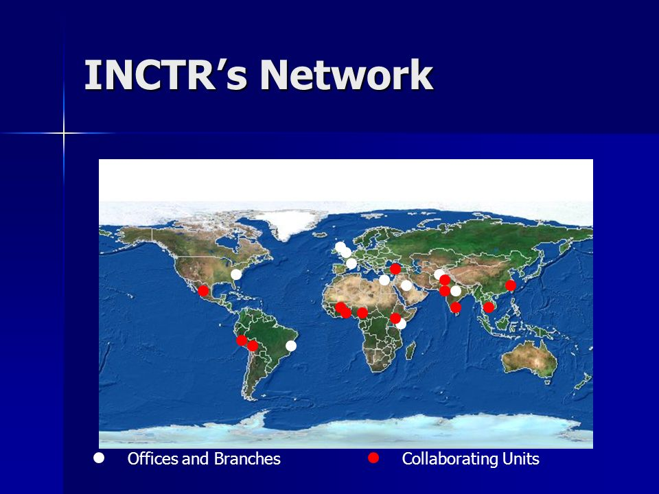 INCTRs Network Offices and BranchesCollaborating Units
