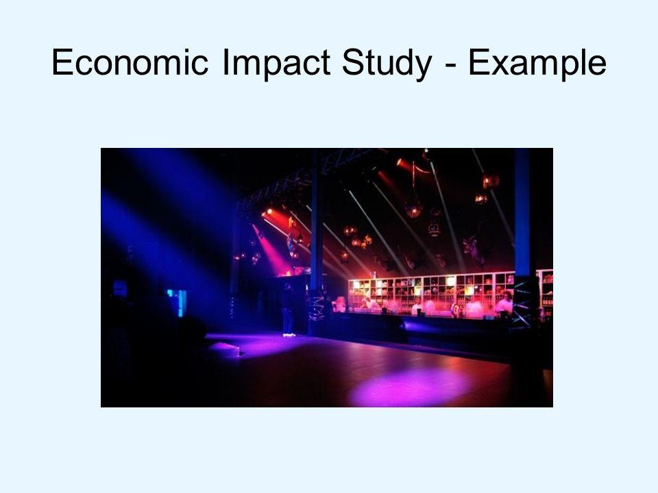 Economic Impact Study - Example