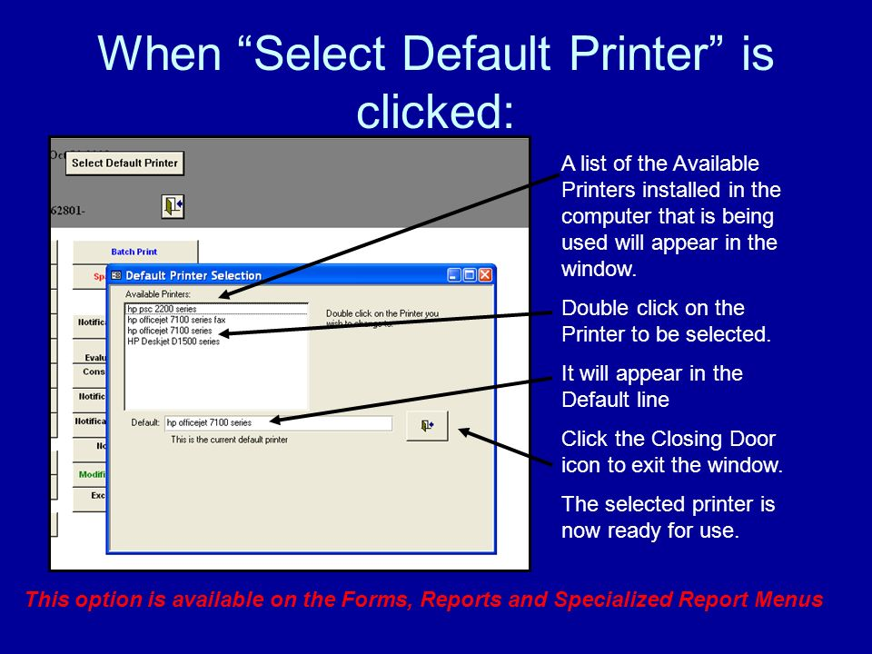 At System Maintenance Screen 2 select Export Data: