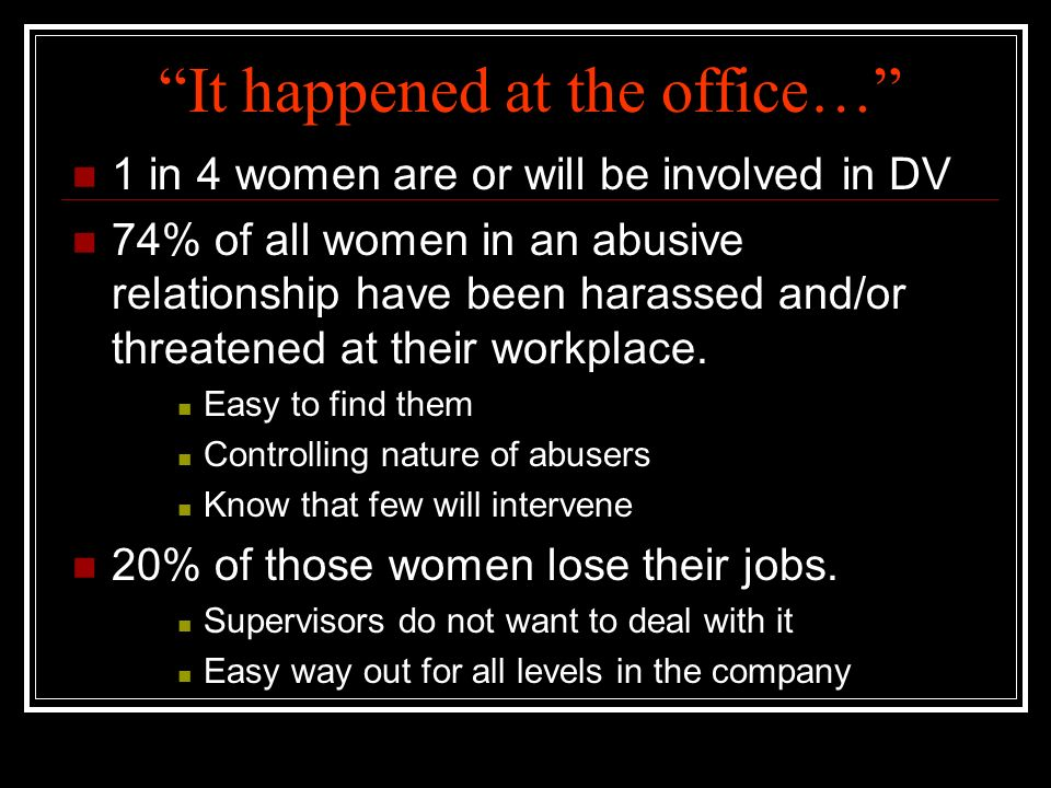 Workplace Violence Can Happen Anywhere… Tucson,Jonesboro, St. Louis,Columbine, Tuscaloosa,Omaha, Paducah,Detroit, Phoenix, anywhere…at anytime………