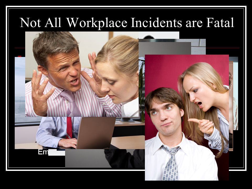 Just how serious is this issue? Since 1997, in the United States, we have averaged 645 workplace homicides, but the number is declining. (We believe b