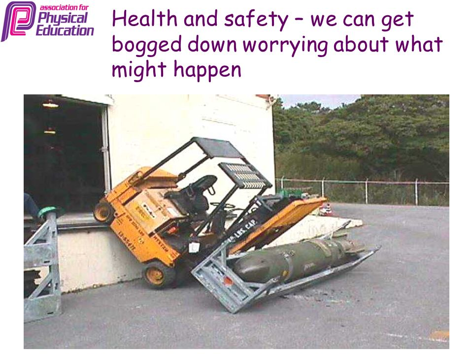 Health and safety – sometimes it can make us too cautious…..? Volenti non fit injuria?