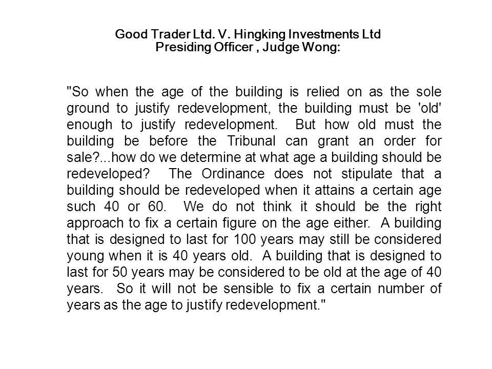Good Trader Ltd. V.