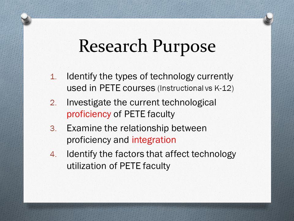 Research Purpose 1.