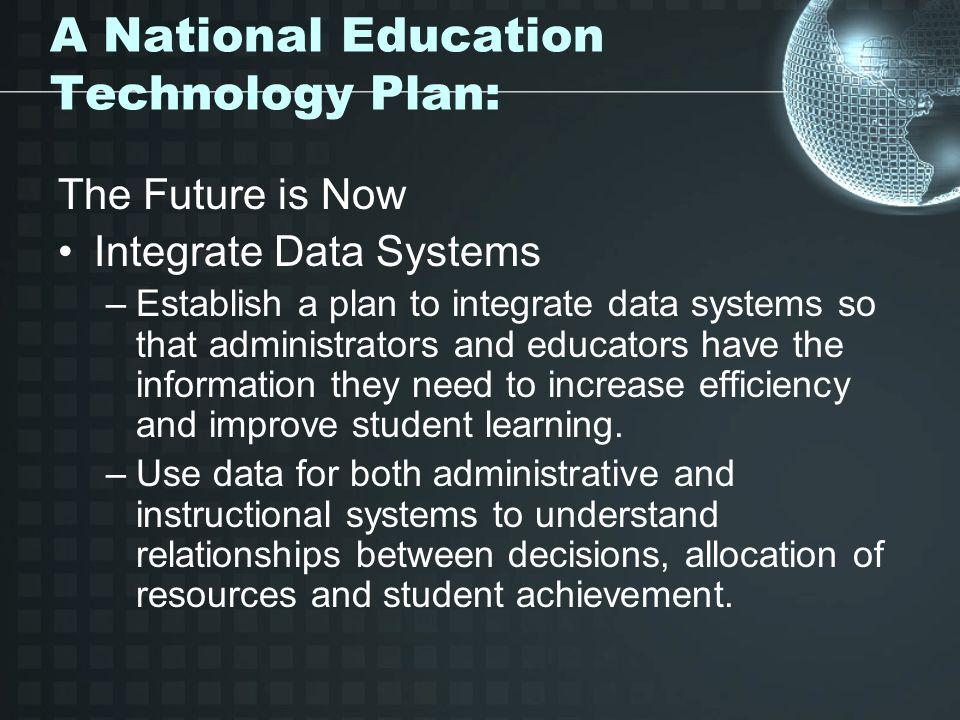 integrating instructional technology plan
