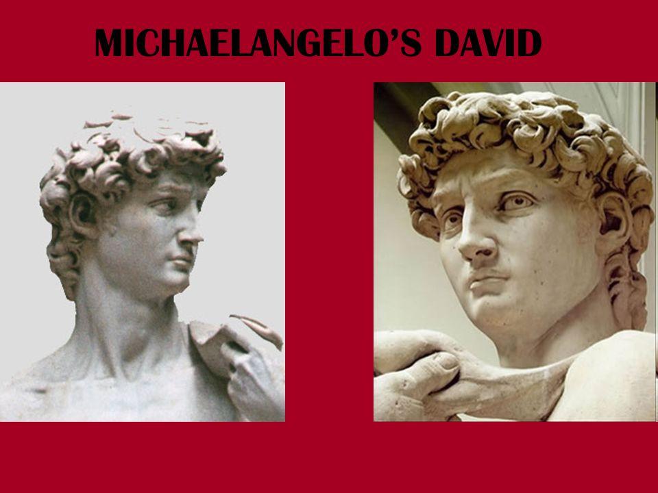 MICHAELANGELOS DAVID