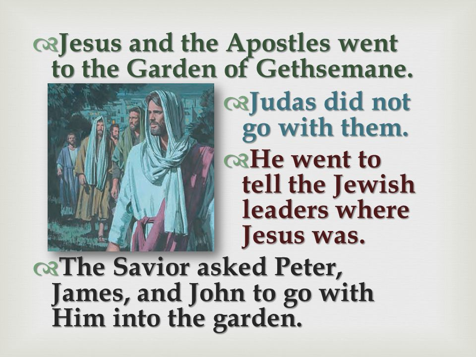 Jesus Suffers in the Garden of Gethsemane New Testament Scripture Stories, Chapter 51